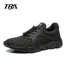 2017 TBA Autumn New light running shoes for Men Hard-wearing rubbish sole sport shoes for adult Men lace-up shoes size 38-45