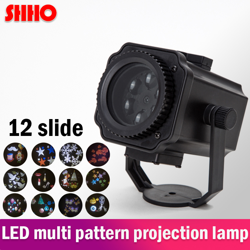 Hot sale waterproof 12 kinds of pattern LED projection light customizable pattern lawn lamp Christmas Halloween party decoration все цены