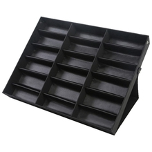 18 Grid Sunglasses Storage Box Organizer Glasses Display Case Stand Holder Eyewear Eyeglasses