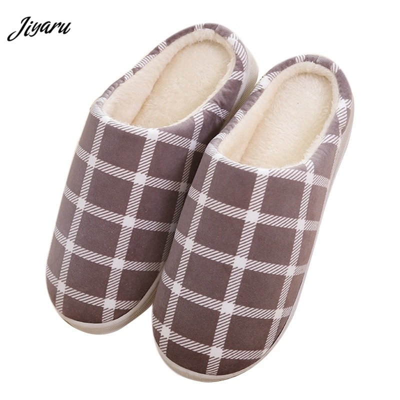 2018 Newly Male Slippers for Bedroom Men Winter Indoor Slippers Soft Plush Slippers Shoes for Men Non-Slip Men Floor Shoes fghgf shoes men s slippers hma