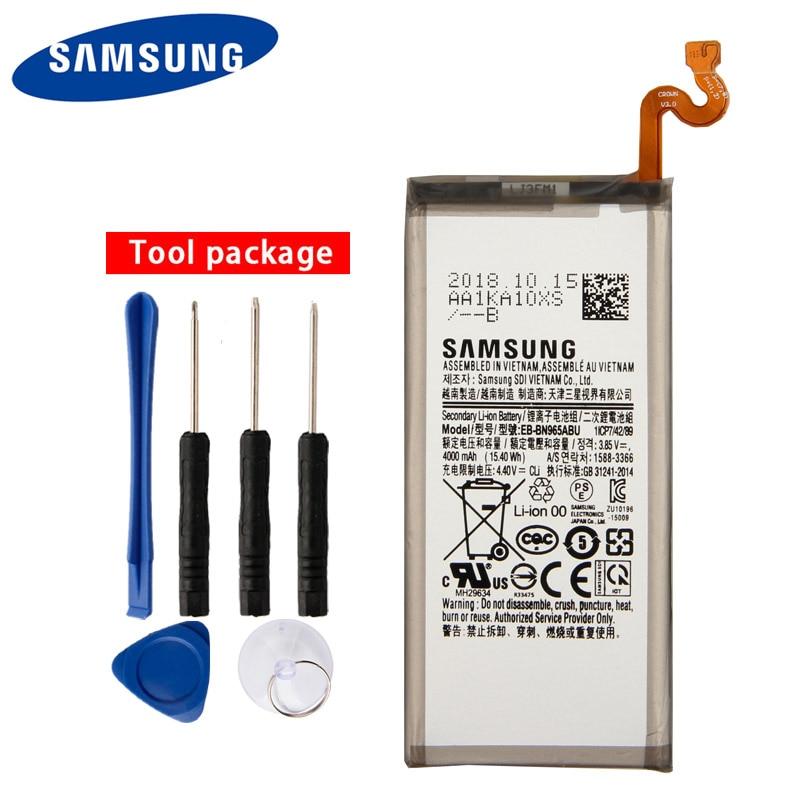 Original Samsung High Quality EB-BN965ABU Batteryfor Galaxy Note9 SM-N9600 Note 9 N9600 4000mAh