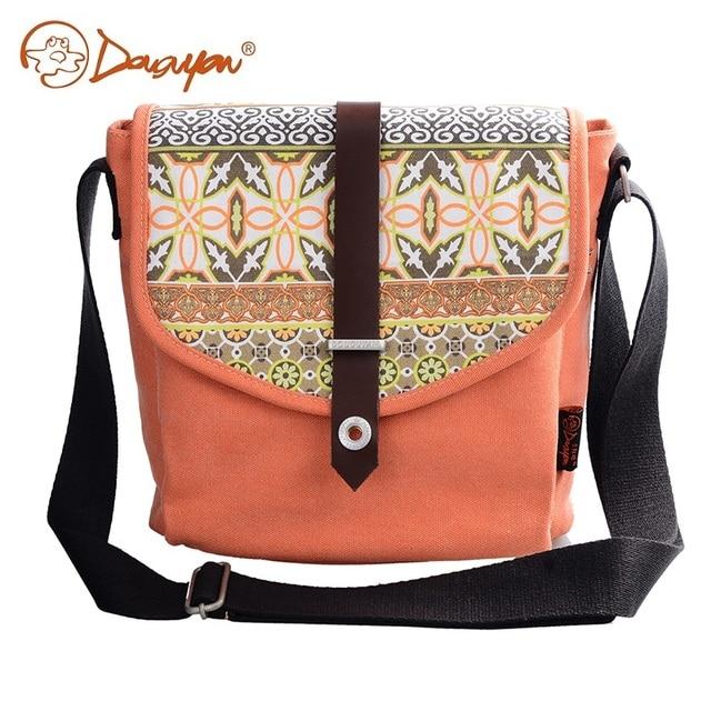 9badff321efc Douguyan Shoulder Bag New Canvas Fashion Women Messenger Bags Orange Cute  Teenager Casual Laptop Handbag Bag Girl G00156