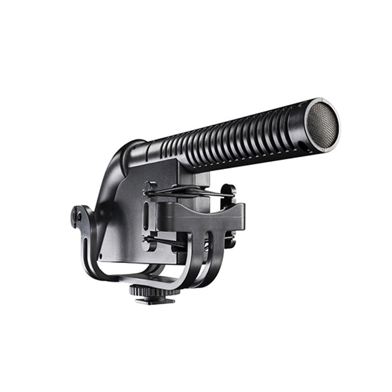BOYA BY-VM190P Super-Cardioid Shotgun Microphone for Canon Nikon Panasonic DSLR Camera Camcorder Audio Recorder 2 step FilterBOYA BY-VM190P Super-Cardioid Shotgun Microphone for Canon Nikon Panasonic DSLR Camera Camcorder Audio Recorder 2 step Filter