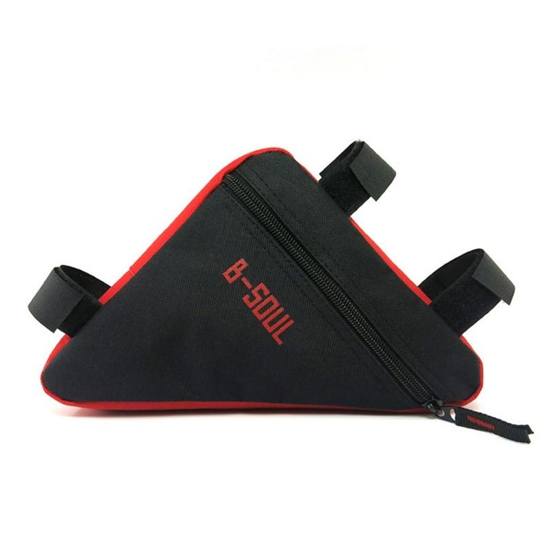 Sac de vélo Triangle vélo Tube avant sac cadre vtt VTT support de pochette sac de selle étanche accessoires de vélo