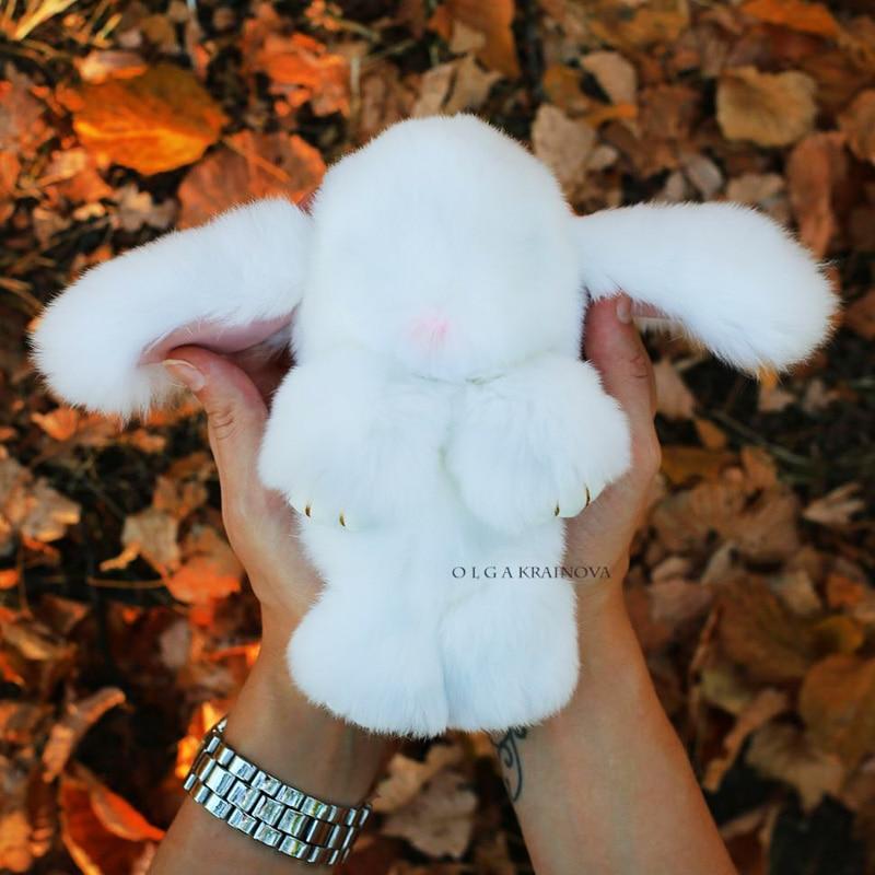 2017 истински заек кожа зайче - Модни бижута - Снимка 4