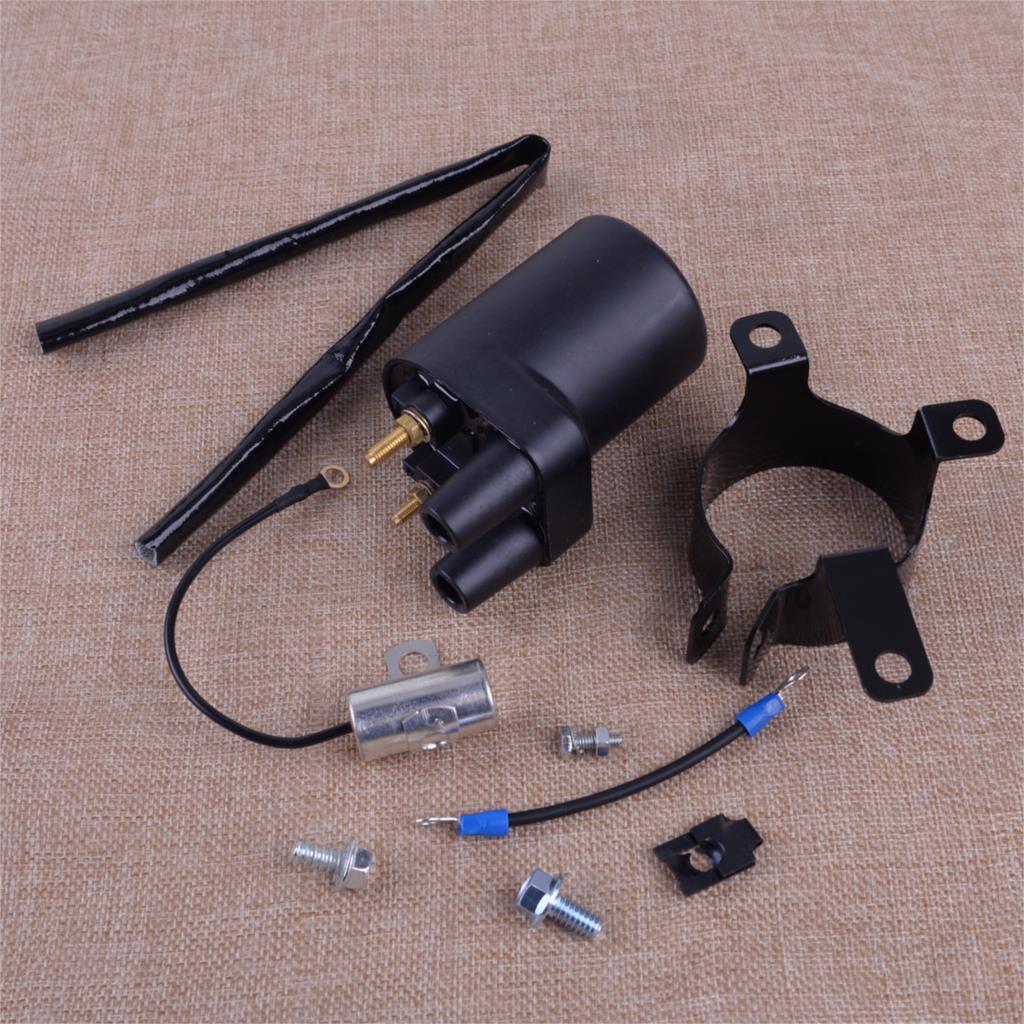 LETAOSK 166-0772 166-0804 bobines d'allumage en métal noir réglé pour les modèles de Points BF B43 B48 NHC CCK Onan remplace