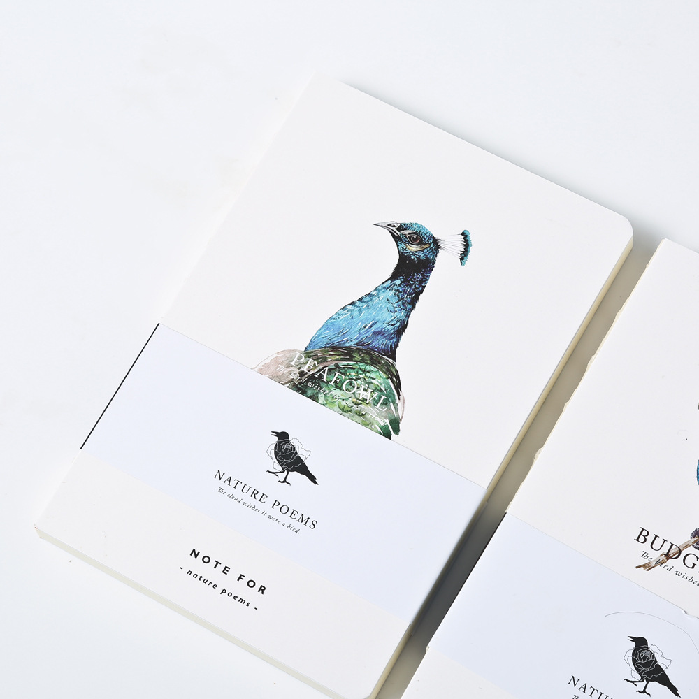 Note for Nature Poem Empty Pages Notebook Travel Journal Composition Book Personal Diary Daily Memos Cute Stationery pu leather cover planner notebook travel journal diary book exercise composition binding note notepad gift stationery 2017
