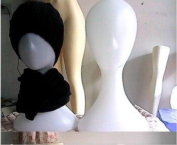 New Arrival Plastic Female Mannequin Head Manikin Women Head Best Value