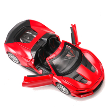 Hot Sell 1:32 Alloy Car Model Diecast Sound Light Pull Back Door Toy for Children Hot Toy Car Hot-Wheel Toy 1 18 diecast model for acura mdx 2015 red alloy toy car miniature collections page 4