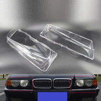 Car Headlight Headlamp Lens Cover For BMW 7 Series E38 Facelift 99 01 Top Left Right 63128386953, 63128386954
