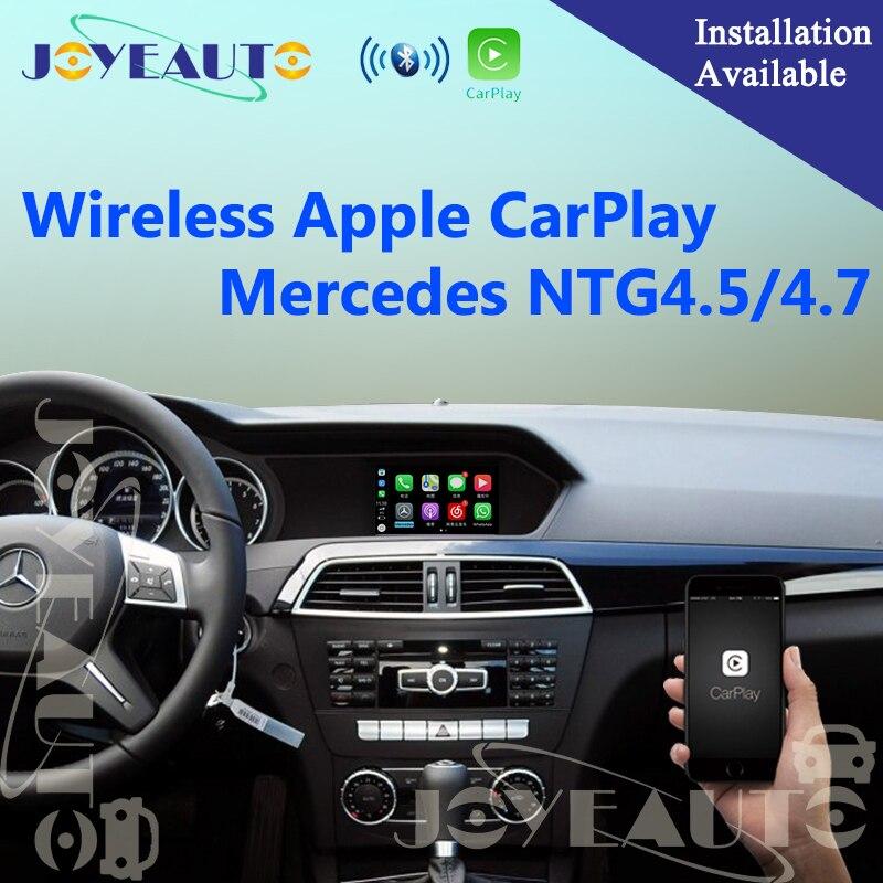 Aftermarket Mercedes NTG4.5 4.7 WIFI Sans Fil OEM Apple Carplay Rénovation A B C E G GL ML Classe 12- 14 mise à niveau avec caméra de recul