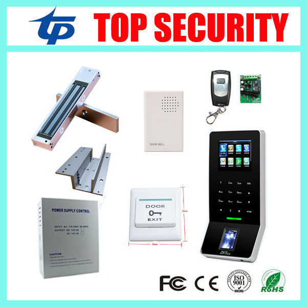 ZK F22 biometric fingerprint access control system DIY fingerprint door access control with EM lock power and so on biometric fingerprint access controller tcp ip fingerprint door access control reader