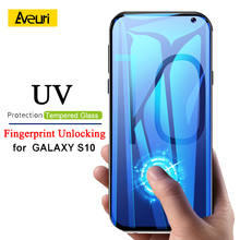 Tempered Glass For Samsung Galaxy S10 Plus S10+ S10E Glass Screen Protector UV Ligh For Samsung Galaxy S9 Plus Note 9 Glass