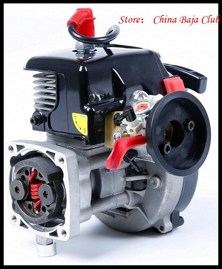 30.5cc Motore 4 Bolt Motore con 668 Carburatore candela 8000 RPM Frizione Fits HPI Baja 5B, LOSI 5 iveT, Redcat, FG - 5