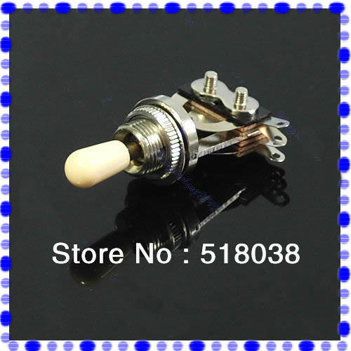 1PC 3 Way Guitar Pickup Toggle Switch Guitar Parts Chrome Wholesale Retail