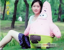 lovely plush Patrick Star toy the cartoon Patrick Star soft big stuffed toy about 100cm
