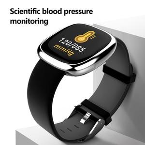 Image 4 - New Screen Activity Tracker Waterproof Smart Bracelet Blood Pressure Pedometer Smart Wristband Heart Rate Monitor  mens women