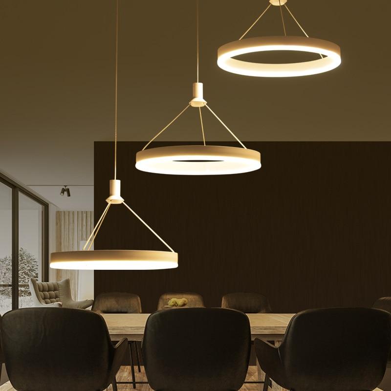 Modern Led Living Dining Room Pendant Lights Suspension: Modern Suspension Luminaire LED Suspended Lamp Nordic