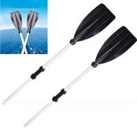 1 Pair 125cm Water skiing Boats Paddles Aluminum Detachable Float Afloat Oars Paddles Boat Kayak Raft Canoe Handles High Quality