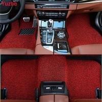 Yuzhe Custom Auto car floor mats for Chevrolet cruze aveo captiva lacetti Sail Malibu Automatic TRAX car accessories car styling