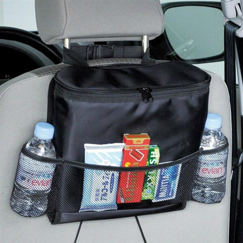 Auto Back Seat Organizer Multi Pocket Travel Storage Bag Car Back Of Seat Cooler Bag ...