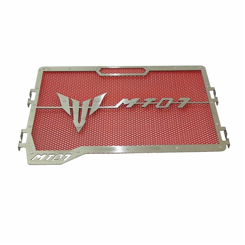 Waase для Yamaha MT07 MT-07 2014 2015 2016 2017 2018 2019 мотоциклетный радиатор Защитная крышка решетка протектор