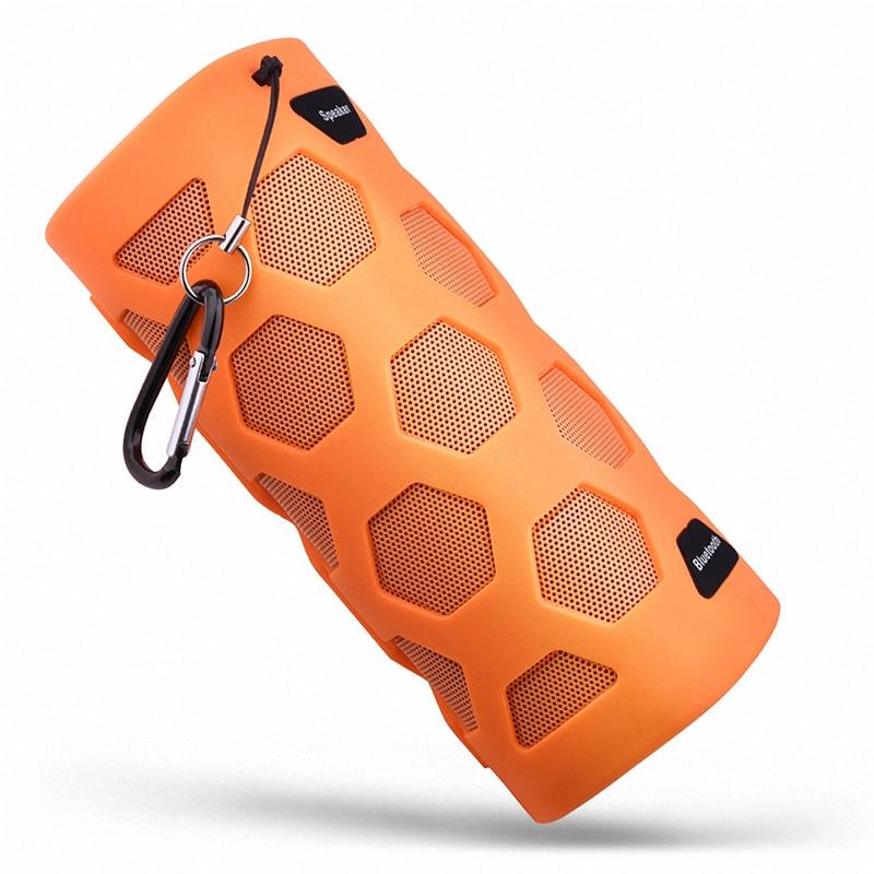 10W Portable IPX65 Waterproof Column Wireless Bluetooth Speaker With 4000Mah Power Bank Handfree NFC Sport Sound Box Loudspeaker