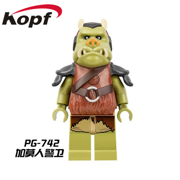 Single-Sale-Star-Wars-Ewok-Village-Tan-Tokkat-Wicket-Logray-10236-Battle-of-Endor-8038-Building-Blocks-Toys-for-children-PG8067-5