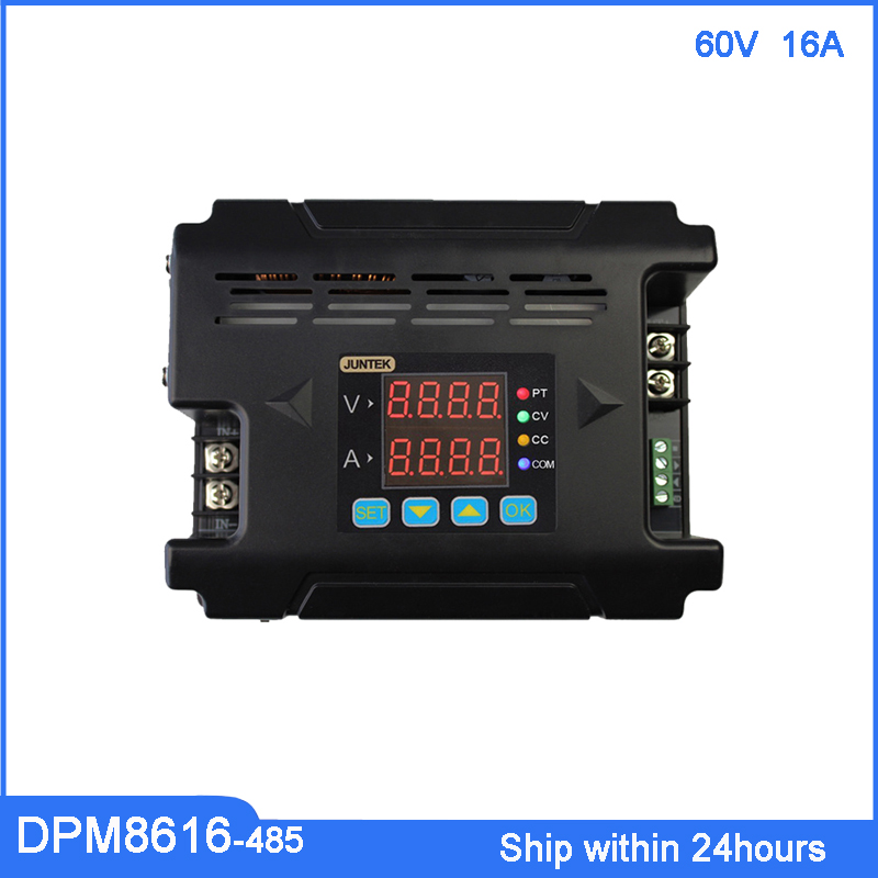 DC Buck Power Supply DPM8616 60V 16A Constant Voltage Current Meter/Voltage Converter with LED Display RS485 Communicationg PortDC Buck Power Supply DPM8616 60V 16A Constant Voltage Current Meter/Voltage Converter with LED Display RS485 Communicationg Port