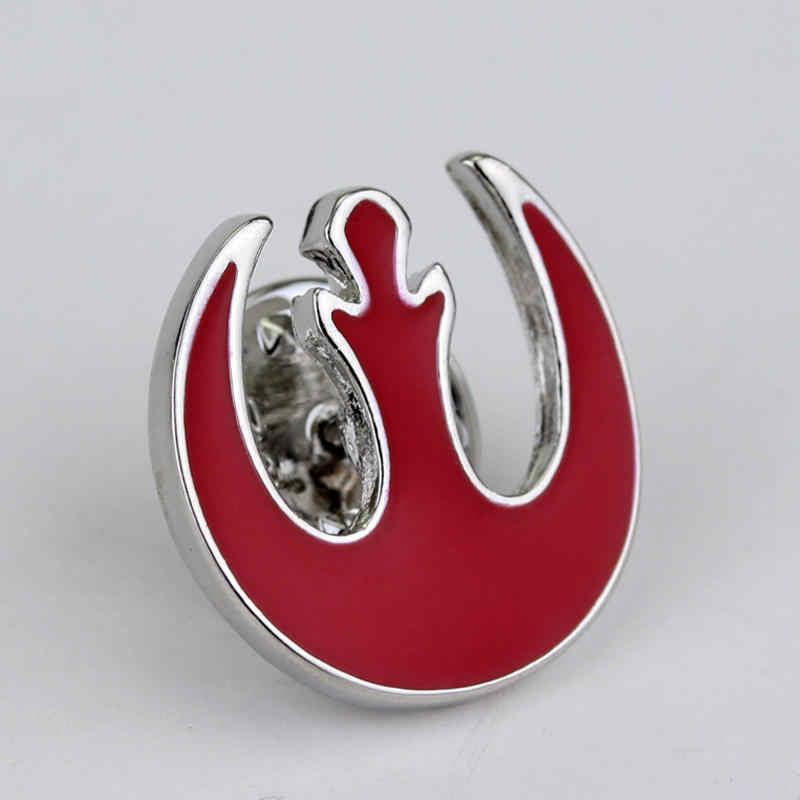 Nuovo Arrivo Star Wars Logo Spilla Distintivo Star Wars Darth Vader Spille Spilli per Il Regalo Degli Uomini Dei Monili