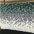 SPR 2.4*2.4m Free Shipping silk wedding ombre flower wall wedding backdrop artificial flower row and arch decorative flore