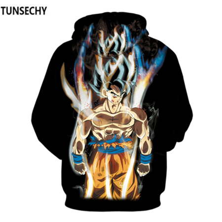 TUNSECHY Brand Dragon Ball 3D Hoodie Sweatshirts Men Women Hoodie Dragon Ball Z Anime Fashion Casual Tracksuits Boy Hooded 25