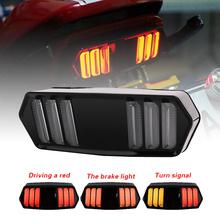 SPEEDPARK Motorcycle Rear taillight Tail Brake Turn Signals Integrated Led Light Lamp Smoke For Honda MSX125 CBR650F CTX700 цена 2017