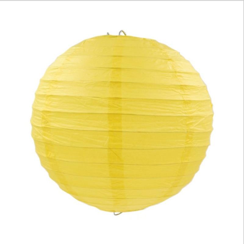 Ücretsiz kargo 10 adet / grup 12 '' (30 cm) Çin kağıt fenerler - Tatiller ve Partiler Için - Fotoğraf 4