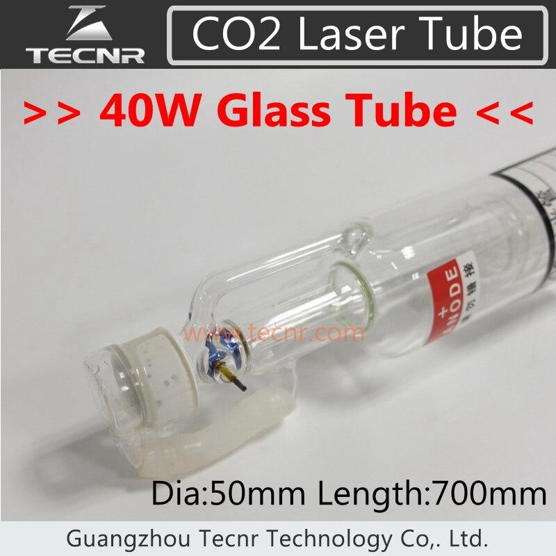 40 w CO2 Tubo Del Laser di Vetro 700mm per CO2 Incisione Laser Macchina di Taglio40 w CO2 Tubo Del Laser di Vetro 700mm per CO2 Incisione Laser Macchina di Taglio