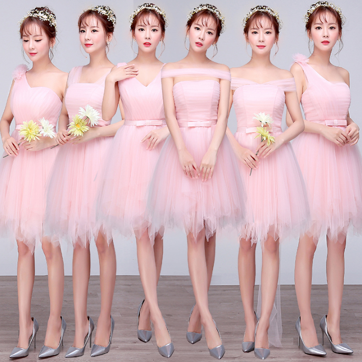 Popular Vintage Light Pink Bridesmaid Dresses-Buy Cheap Vintage ...
