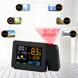 Image 3 - Protmex PT3391 Projectie Weer Klok, Radio Controlled Klok Weer Monitor Indoor/Outdoor Thermometer