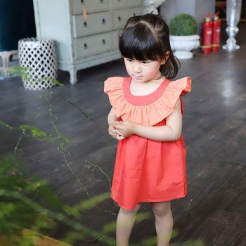 Heißer Verkauf Sommer 2018 Neue Baby Mädchen Rüschen Kleid Kinder Patchwork A-linie Kleider Kleinkind Mädchen Sommerkleidung Casual Kleider