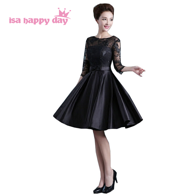 2017 Classy Black Semi Formal Birthday Sweet 16 Homecoming Ball Gown