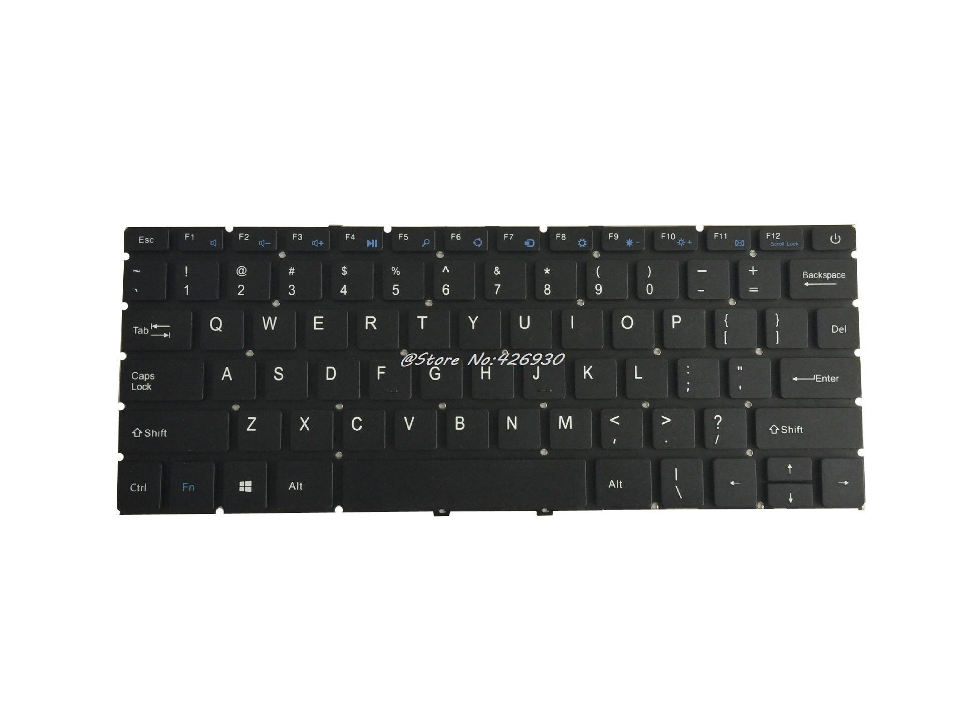100% QualitäT Laptop Tastatur Für Jumper Ezbook 3 Pro Lb10 Englisch Us Schwarz Ohne Rahmen Ver1 (alte Version) /ver2 (neue Version) Farben Sind AuffäLlig