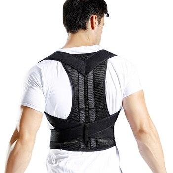 Bodywellness postura correttore corsetto per la parte posteriore Megattera Correzione della postura corsetto per la corretta postura brace Support