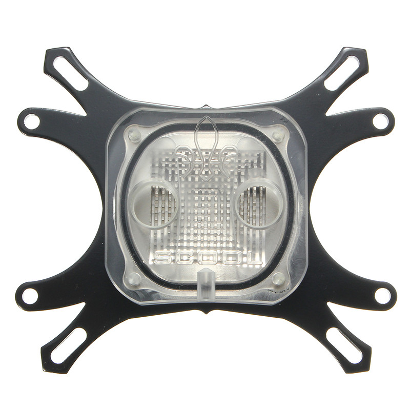 1pcs CPU Water Cooling Block for Computer Waterblock Base Cool Inner Channel 50mm Computer Cooling Radiator