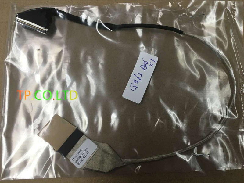 Genuine New Free Shipping screen video cable 595186-001 For HP CQ42 G42 CQ62 G62 screen video cable DD0AX6LC020 DD0AX6LC000