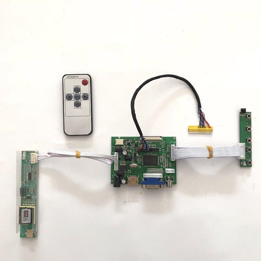RTD2660 HDMI AV VGA LCD Controller  Board for 14.1inch 1024 x 768 CLAA141XD05 CCFL TFT LVDS Monitor Kit Easy to DIY la mv56u a new universal hdmi usb av vga atv pc lcd controller board for 10 4inch 1024x768 claa104xa01cw ccfl lvds monitor kit