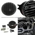 Cnc Rough artesanía del filtro de aire + filtro de entrada de System adapta para HD Harley Sportster 2004-2014 XL