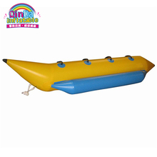 PVC material water sport equipment inflatable banana boat for sale