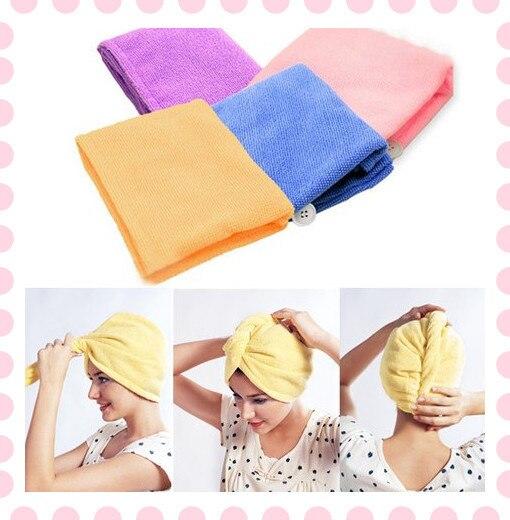 Magic Microfiber Twist Hair Dryer Quick Drying Towel
