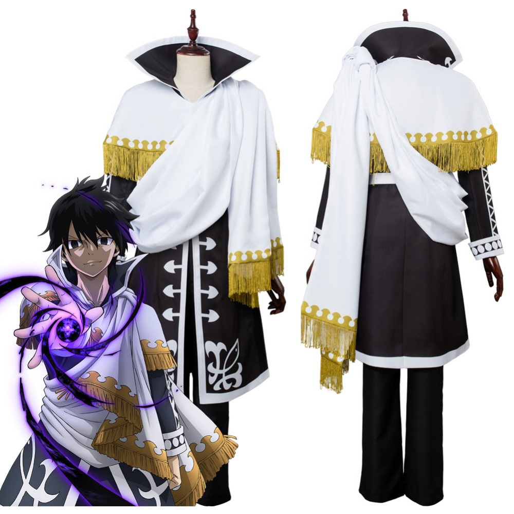 From the Fairy Tail of the Zeref animation Cosplay clothing