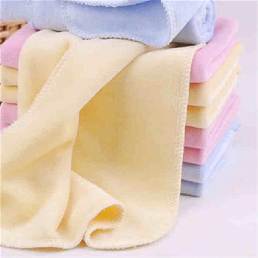 bambino appena nato telo da bagno in cotone set panno morbido assorbente tessuto 3 pz lusso