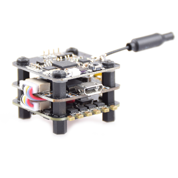 Feichao FSD-20 F3V1.0 Mini Tower Racer F3 Flight Controll ESC with 40CH VTX OSD 25mw/200mw Switchable for FPV DIY RC Multicopter rcmoy uav115 brushless micro fpv racing quadcopter drone f3 flight controll 800tvl vtx 10a esc tiny whoop blade inductrix